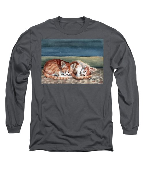 Two Kittens Long Sleeve T-Shirt