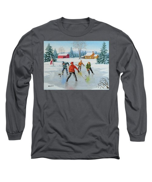 Two On One Long Sleeve T-Shirt