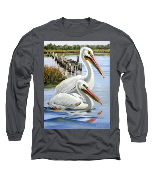 Two Part Harmony Long Sleeve T-Shirt by Phyllis Beiser