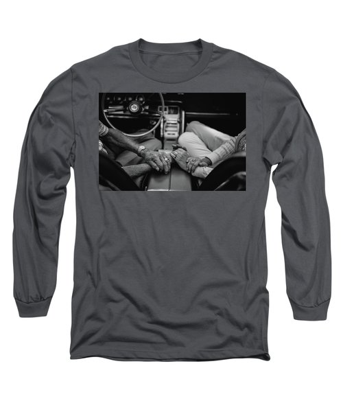 Two People In Love By Michael Grobin Long Sleeve T-Shirt