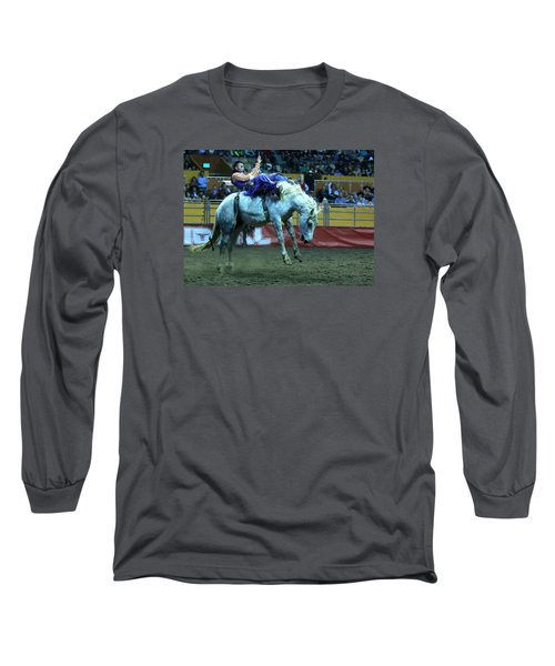 Two Seconds Later At The Grand National Rodeo Long Sleeve T-Shirt