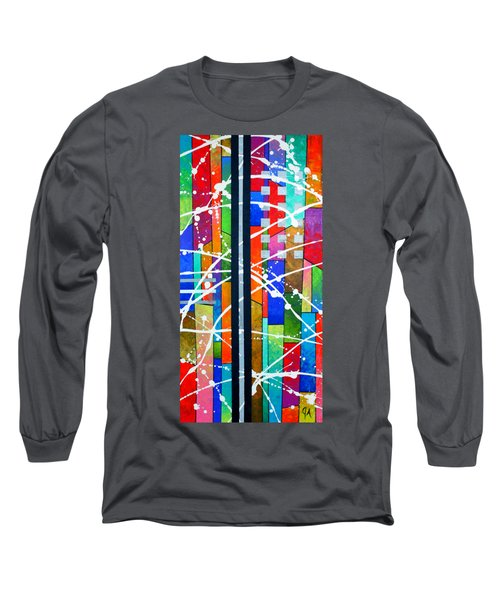 Two Towers Long Sleeve T-Shirt by Jeremy Aiyadurai