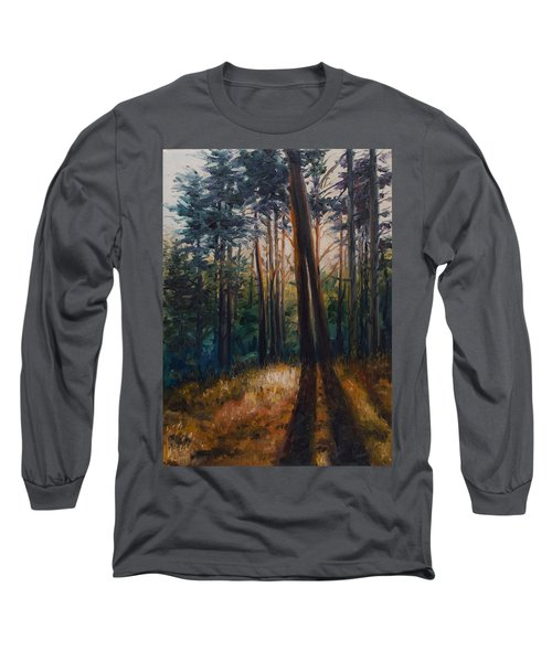Two Trees Long Sleeve T-Shirt by Rick Nederlof