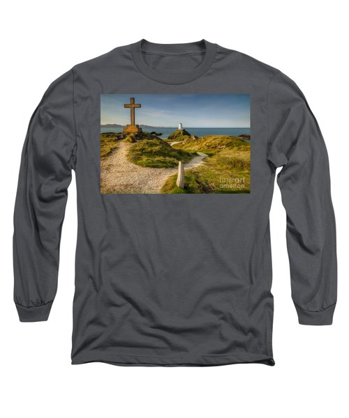 Twr Mawr Lighthouse Long Sleeve T-Shirt