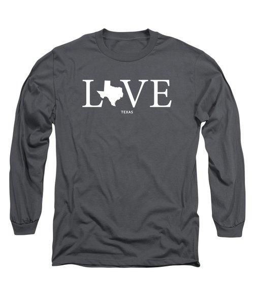 Tx Love Long Sleeve T-Shirt by Nancy Ingersoll