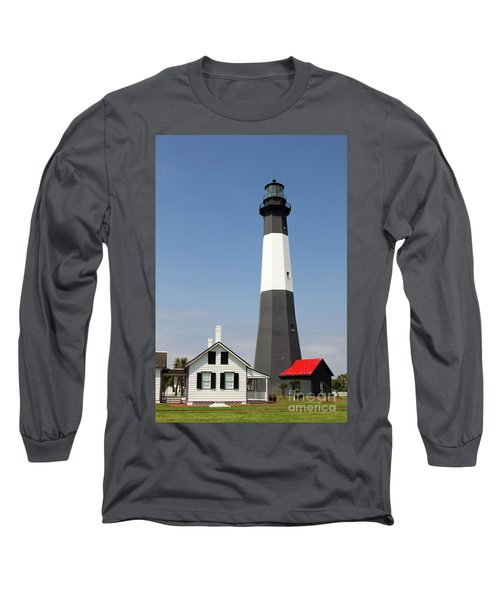 Tybee Lighthouse Georgia Long Sleeve T-Shirt