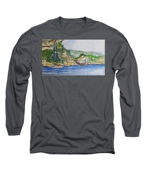 U Capu Biancu Long Sleeve T-Shirt