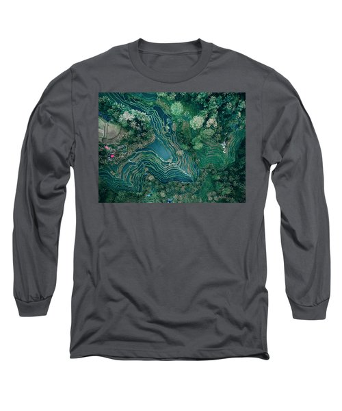Ubud Rice Terrace Long Sleeve T-Shirt