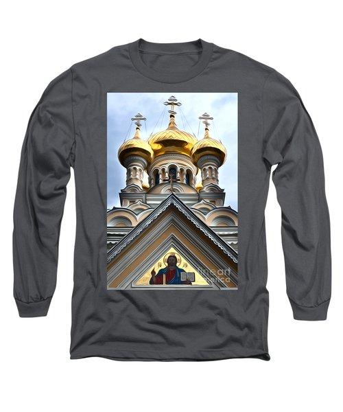 Ukrainian Church Long Sleeve T-Shirt