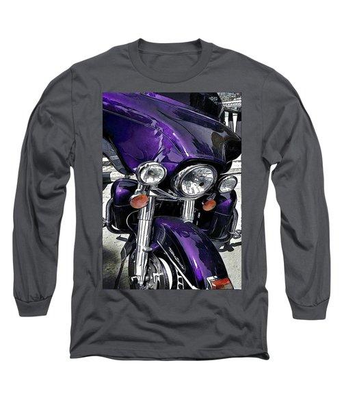 Ultra Purple Long Sleeve T-Shirt