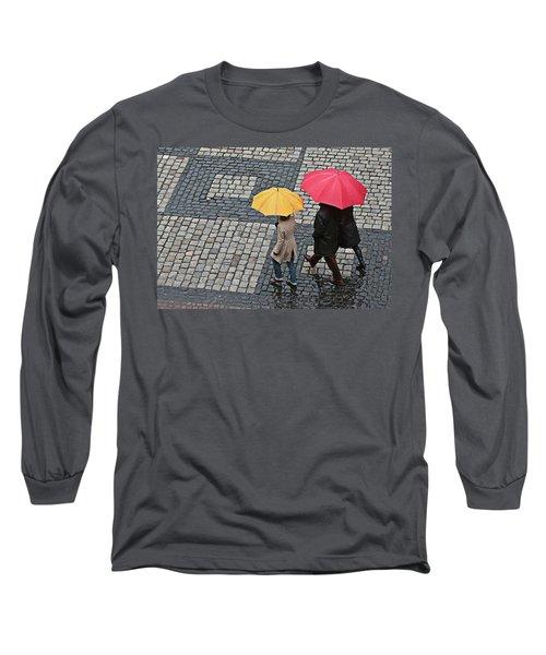 Rainy Day In Heidelberg Long Sleeve T-Shirt
