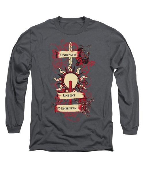 Unbowed Unbent Unbroken Long Sleeve T-Shirt