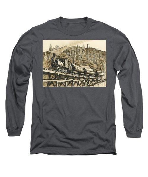 Uncle Sam Sepia Long Sleeve T-Shirt