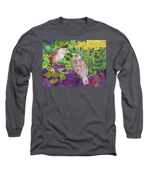 Unconditional Love Long Sleeve T-Shirt by Judy Mercer