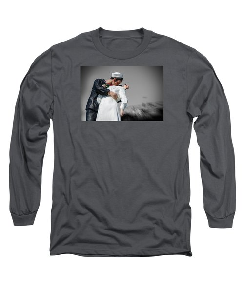 Unconditional Surrender 1 Long Sleeve T-Shirt by Susan  McMenamin