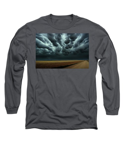 Under A Mammatus Sky Long Sleeve T-Shirt
