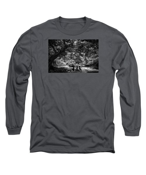 Under A Tree Long Sleeve T-Shirt