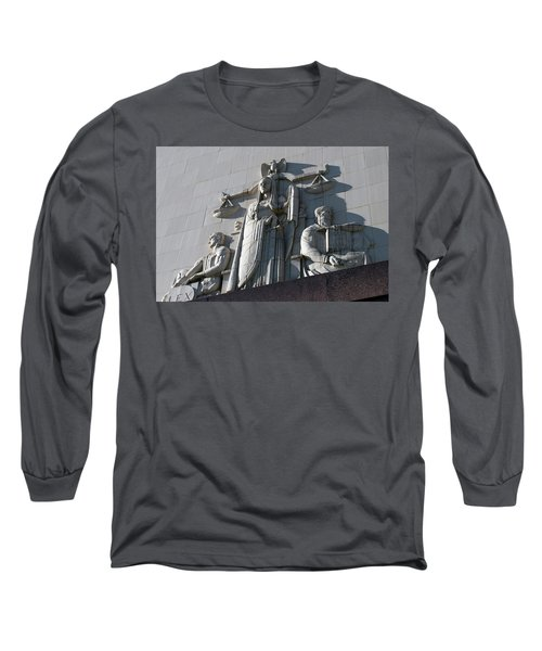Under Scales Of Justice Long Sleeve T-Shirt