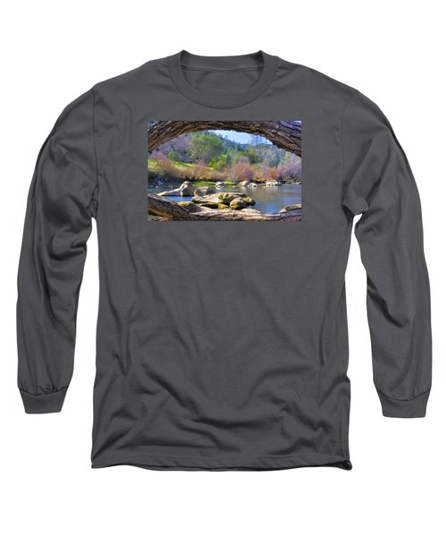 Under The Arch Long Sleeve T-Shirt by Josephine Buschman