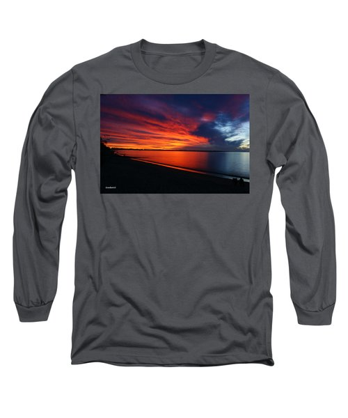 Under The Blood Red Sky Long Sleeve T-Shirt