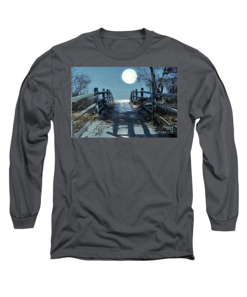 Under The Moonbeams Long Sleeve T-Shirt