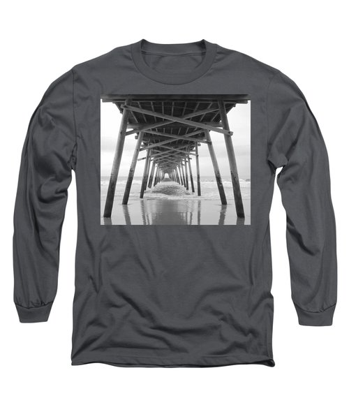 Under The Pier Long Sleeve T-Shirt by Betty Buller Whitehead