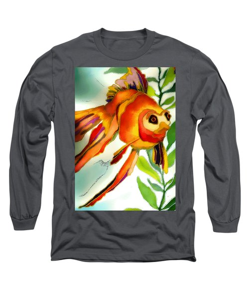 Underwater Fish Long Sleeve T-Shirt by Lyn Chambers