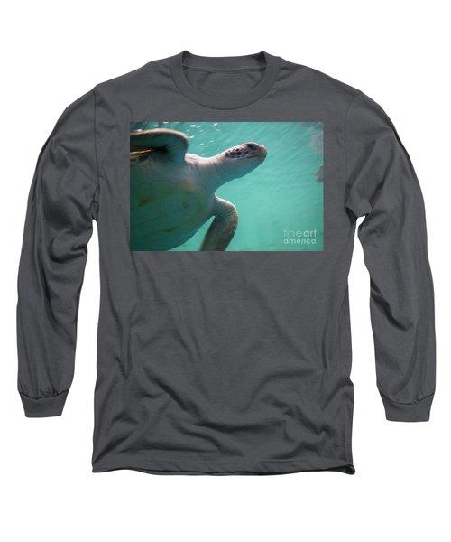 Underwater Race Long Sleeve T-Shirt