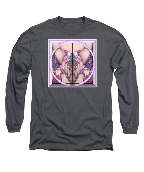 Undesignated Ballpoint Long Sleeve T-Shirt by Jack Dillhunt