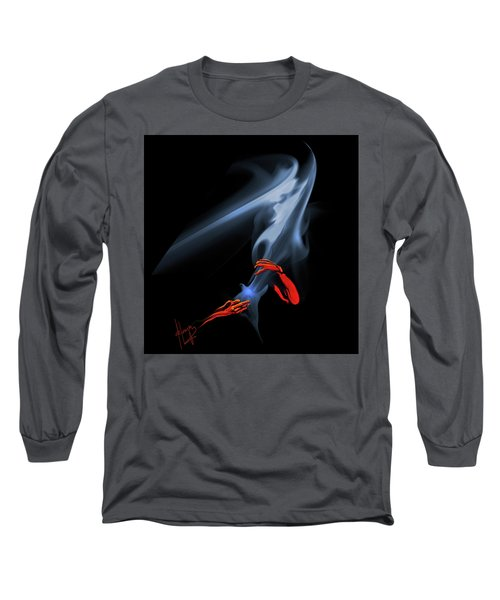 Unholy Smoke Long Sleeve T-Shirt by DC Langer