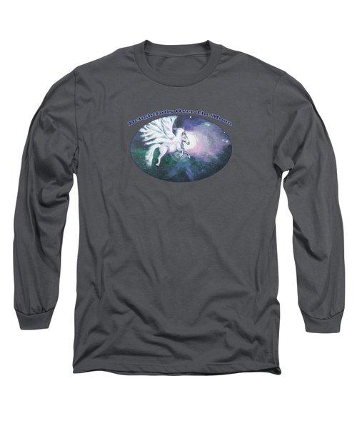 Unicorn And The Universe Long Sleeve T-Shirt