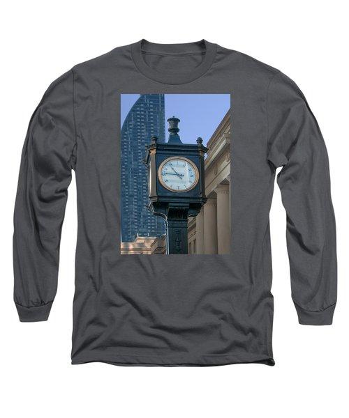 Union Station - Toronto Long Sleeve T-Shirt by John Black