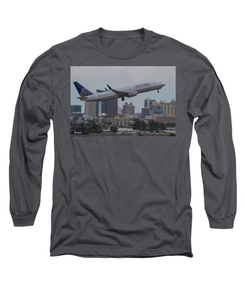 United Airlinea Long Sleeve T-Shirt