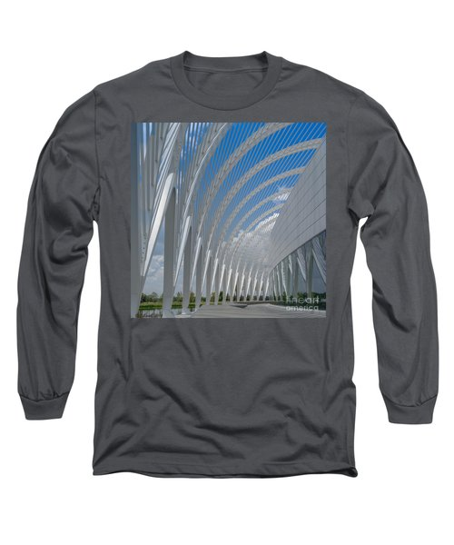 University Arching Lines Long Sleeve T-Shirt