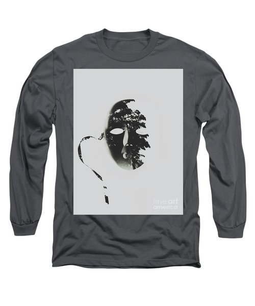 Unmasking In Silence Long Sleeve T-Shirt