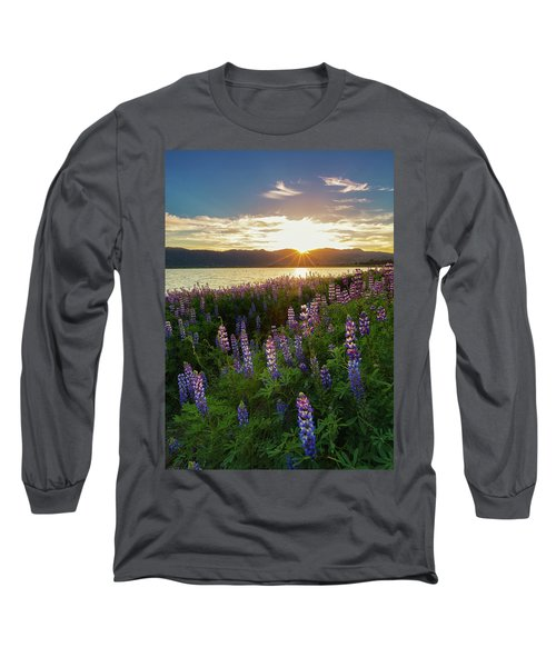 Untamed Beauty Long Sleeve T-Shirt by Tassanee Angiolillo
