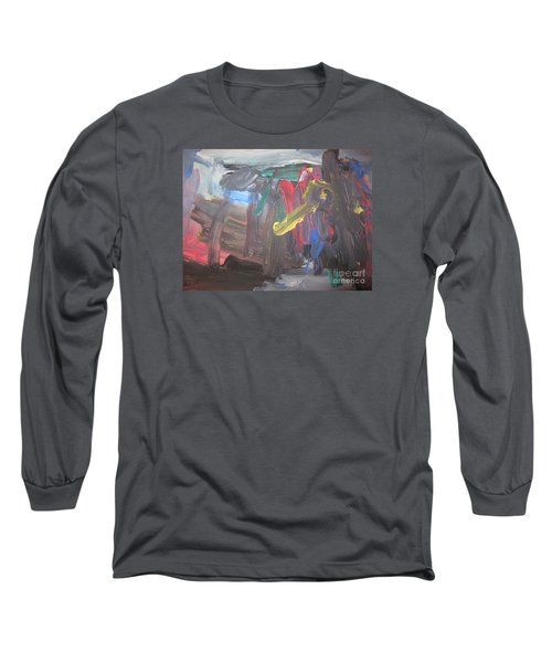 Untitled 128 Original Painting Long Sleeve T-Shirt