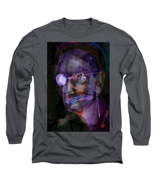 Long Sleeve T-Shirt featuring the painting Untitled - 12dec2016 by Jim Vance