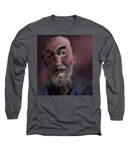 Long Sleeve T-Shirt featuring the painting Untitled - 26nov2016 by Jim Vance