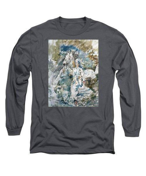 Dreams Long Sleeve T-Shirt by Khalid Saeed