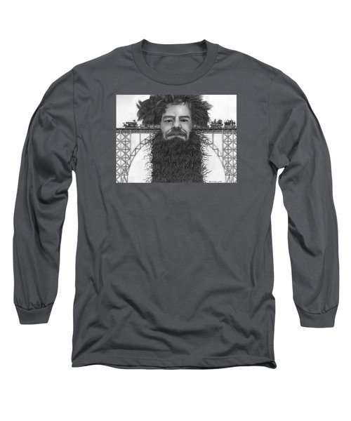 Train Of Thoughts Long Sleeve T-Shirt by Richie Montgomery