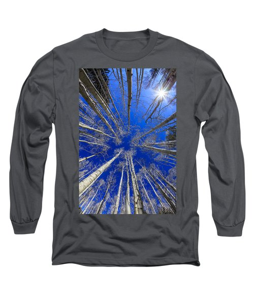 Up Long Sleeve T-Shirt by Alexey Stiop