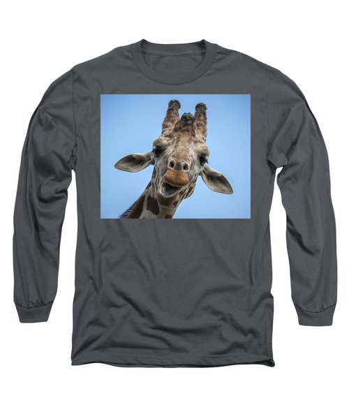 Up Here Long Sleeve T-Shirt by Tyson Smith