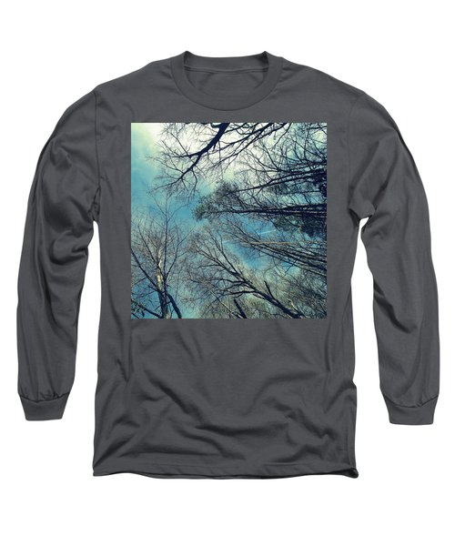 Up Long Sleeve T-Shirt by Tammy Schneider