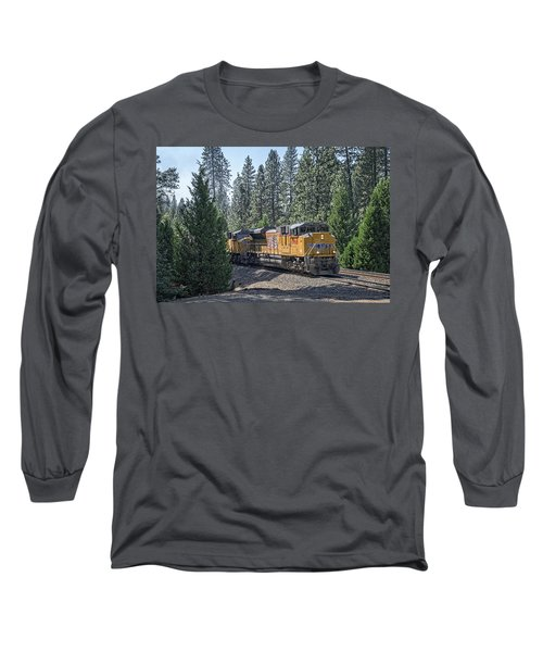 Up8968 Long Sleeve T-Shirt by Jim Thompson