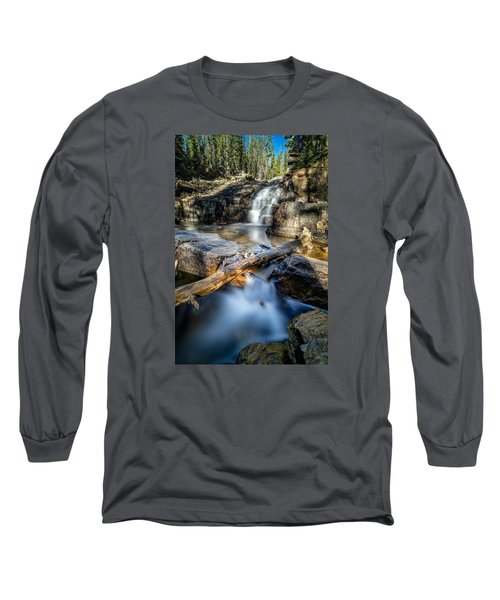 Upper Provo River Falls Long Sleeve T-Shirt