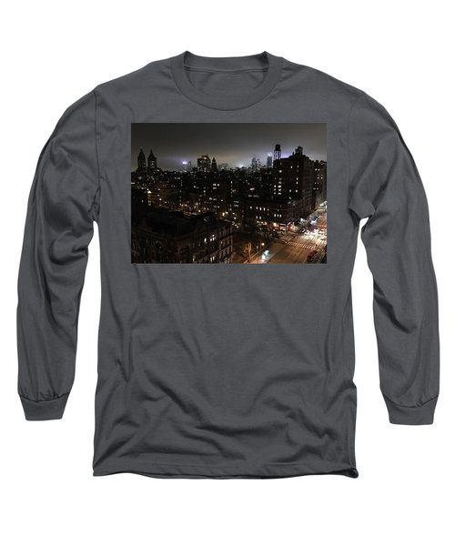 Upper West Side Long Sleeve T-Shirt by JoAnn Lense