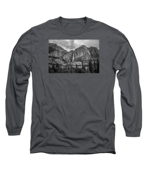 Upper Yosemite Falls Long Sleeve T-Shirt