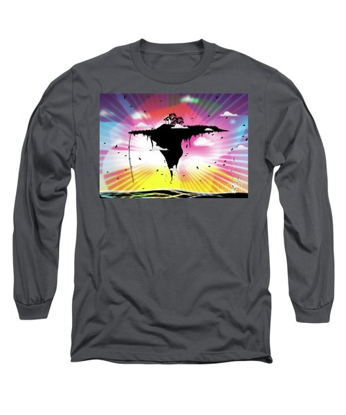 Ups And Downs Long Sleeve T-Shirt