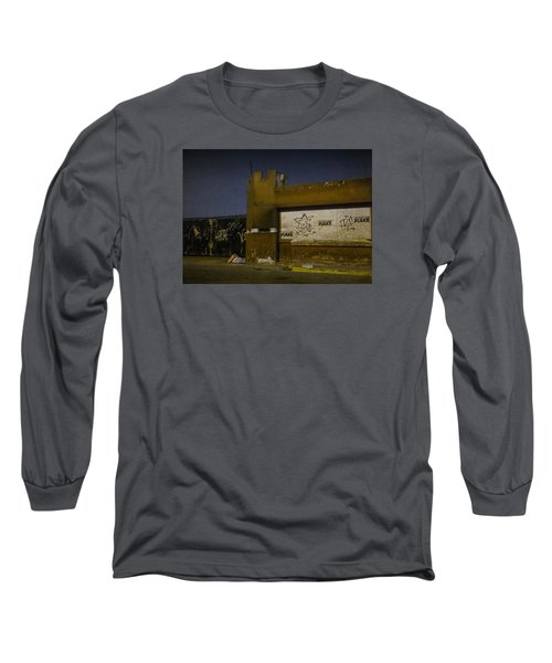 Urban Decay In Lima, Peru Long Sleeve T-Shirt